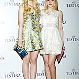 Elle Fanning and Dakota Fanning