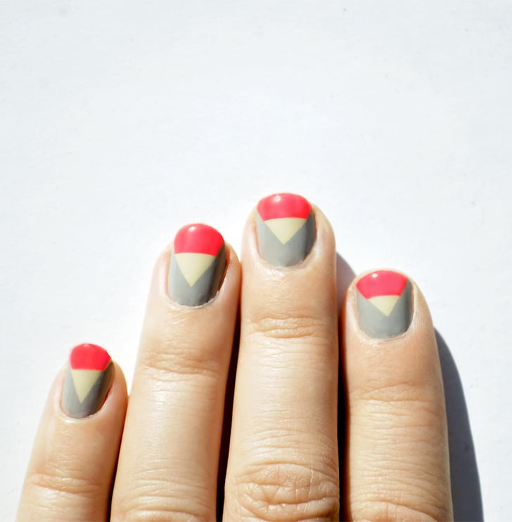 Prettyfulz Fall Nail Art Design 2011: A Look To Match A Fall 2011 Runway Look From Tibi