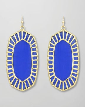 These Kendra Scott cobalt drop earrings ($75) are sure to get you noticed with whatever you wear them.