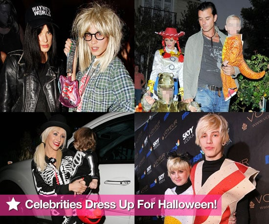 Extensive Photo Gallery of Celebrities in Fancy Dress Costumes For Halloween 2009 Including Stefani-Rossdales  sc 1 st  popsugar uk & Extensive Photo Gallery of Celebrities in Fancy Dress Costumes For ...