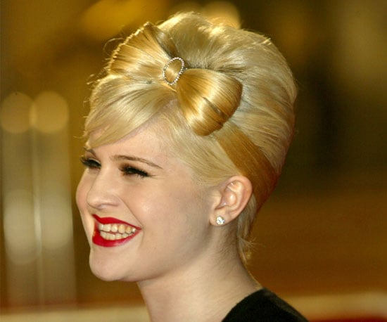 Blond Bow