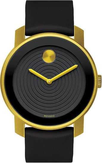 MOVADO BOLD Mens Two-Tone Aluminum Watch