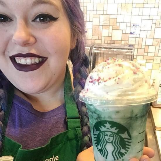 Starbucks Crystal Ball Frappuccino Hair