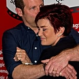 The X Factor's Dermot O'Leary and Sharon Osbourne were reunited at a photocall for the Cinemagic London Festival.