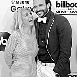 Britney Spears and Charlie Ebersol: 2014-2015