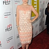 Olivia Wilde put her hand on her hip for a screening of Butter.