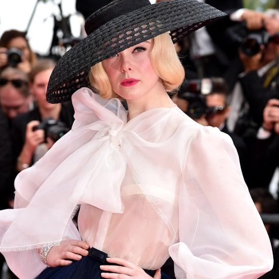 Elle Fanning Dior Dress at Cannes 2019