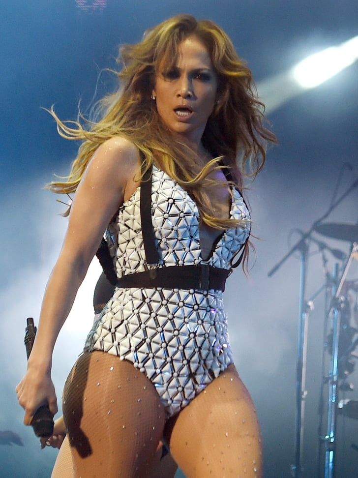 Video aus dem Umkleideraum: Sexy: Jennifer Lopez wackelt