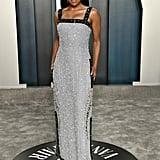Regina King at the Vanity Fair Oscars Afterparty 2020