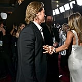 Jennifer Aniston and Brad Pitt at SAG Awards Pictures 2020