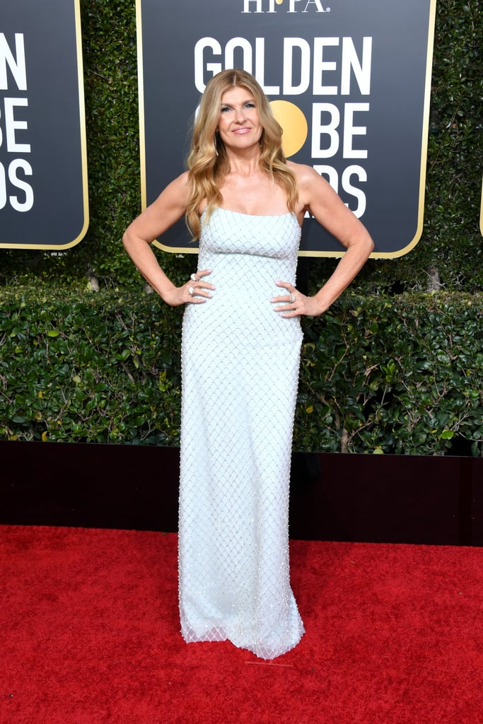 Connie Britton at the 2019 Golden Globes