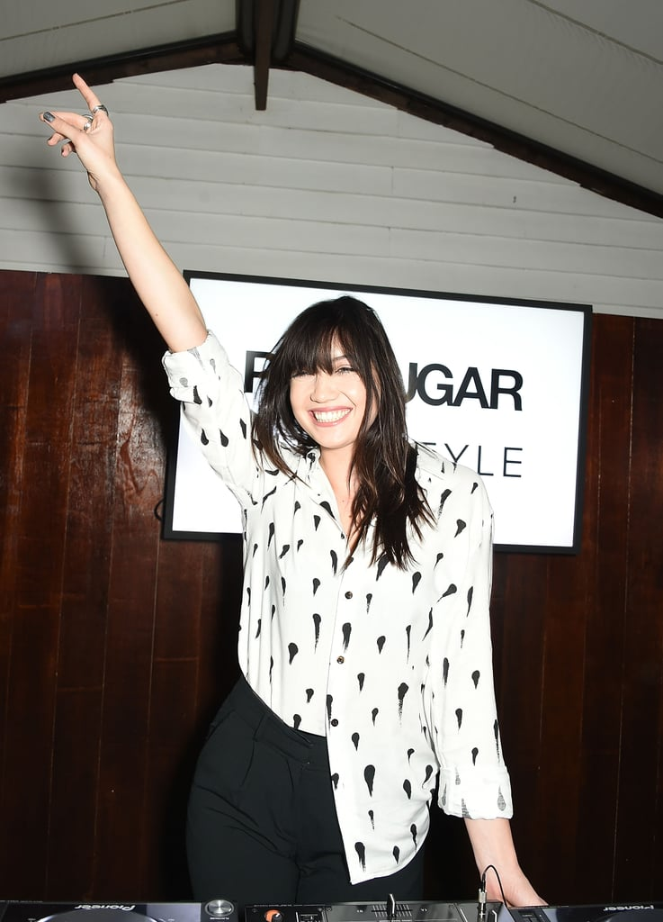 Celebrities at the POPSUGAR x ShopStyle UK Love Party