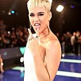 Katy Perry Hair and Makeup at the 2017 MTV VMAs