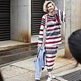 Zanita Whittington made a case for classic stripes, reinvented.