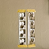 Taped to the Wall in Photo Strips