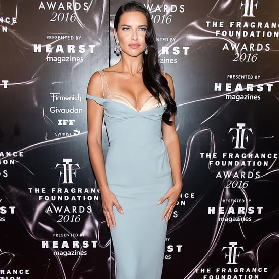Adriana Lima at the Fragrance Foundation Awards 2016