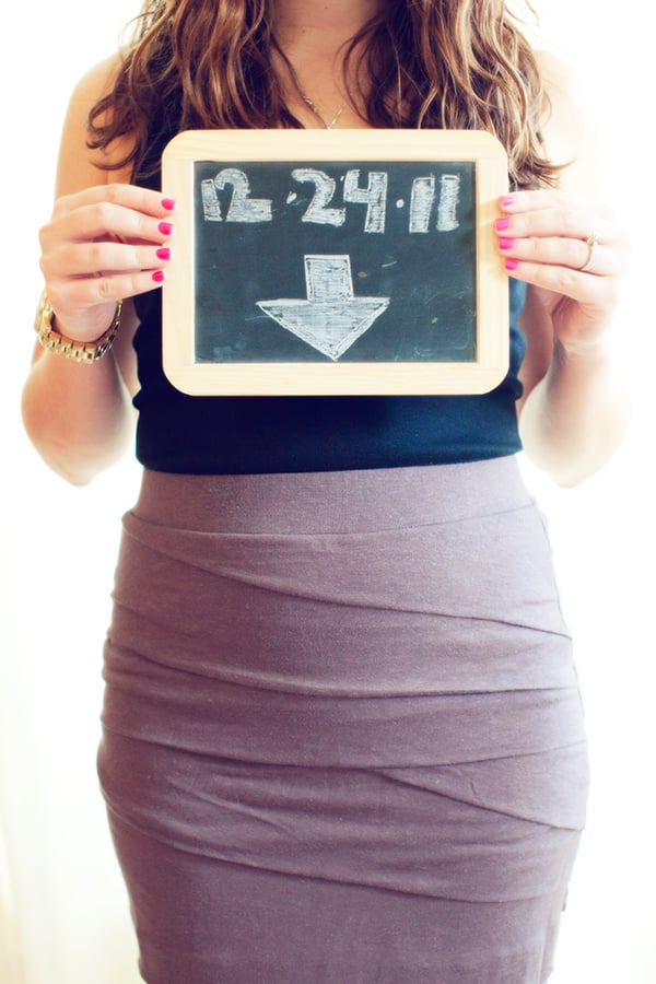 Creative Ways to Announce a Pregnancy