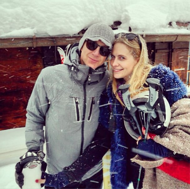 Poppy Delevingne hit the slopes with Jefferson Hack. Source: Instagram user fashionspirit_theinsider