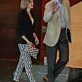 Queen Letizia showed off her daring style during an event in June.