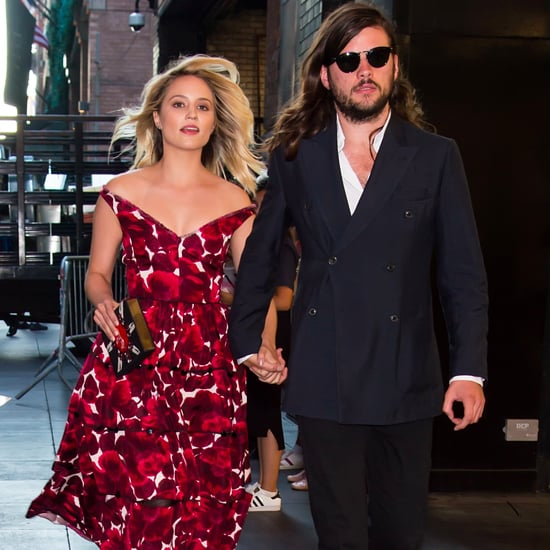 Dianna Agron Marries Winston Marshall 2016
