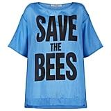 """""""انقراض النحل يعني انقراض البشريّة. علينا أن نحظر استخدام المبيدات الحشريّة النيكوتينويدية ومبيدات الحشائش""""."""