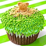 Green Groundhog Cupcakes