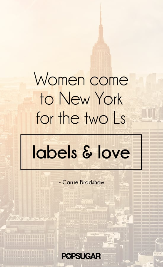 Sex and the city fashion quotes