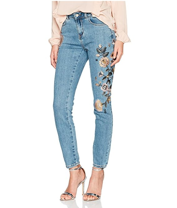 New Look Botanical Embroidered Jeans (£19.99)