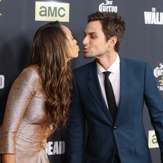 Andrew J. West and Amber Stevens Cute Pictures