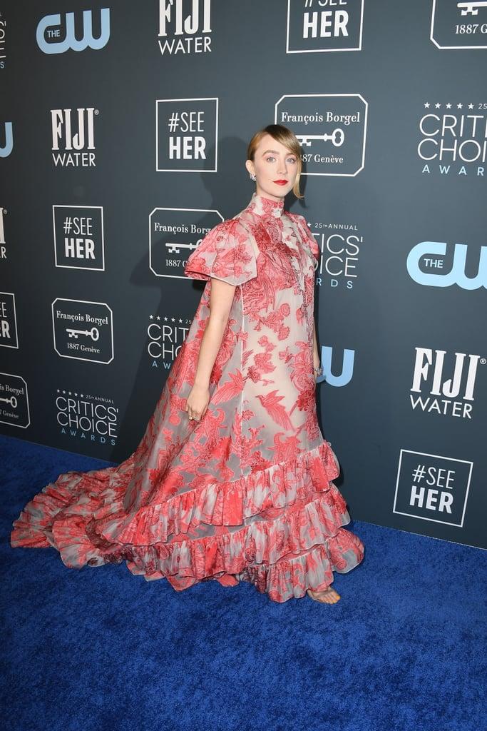 Saoirse Ronan at the 2020 Critics' Choice Awards