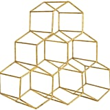 Golden Honeycomb Wine Rack