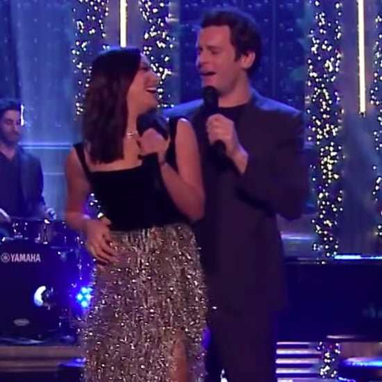 Lea Michele and Jonathan Groff's Christmas Performance Video