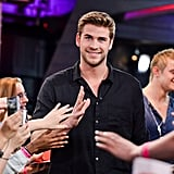 Liam Hemsworth at MuchMusic in Toronto.