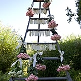 Bouquet Ladder Place Card Holder