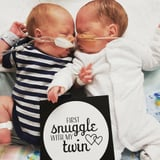 The Story Behind These Milestone Cards For Preemies Will Bring You to Tears