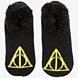 Harry Potter Deathly Hallows Cozy Slippers