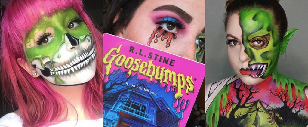 Reader Beware: These Goosebumps-Inspired Halloween Makeup Looks Will Spook You