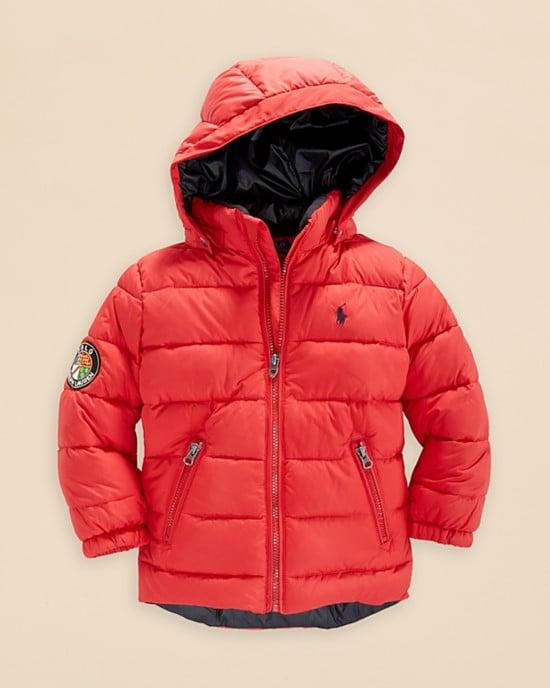Ralph Lauren Boys' Racer Jacket | Winter Coats For Kids