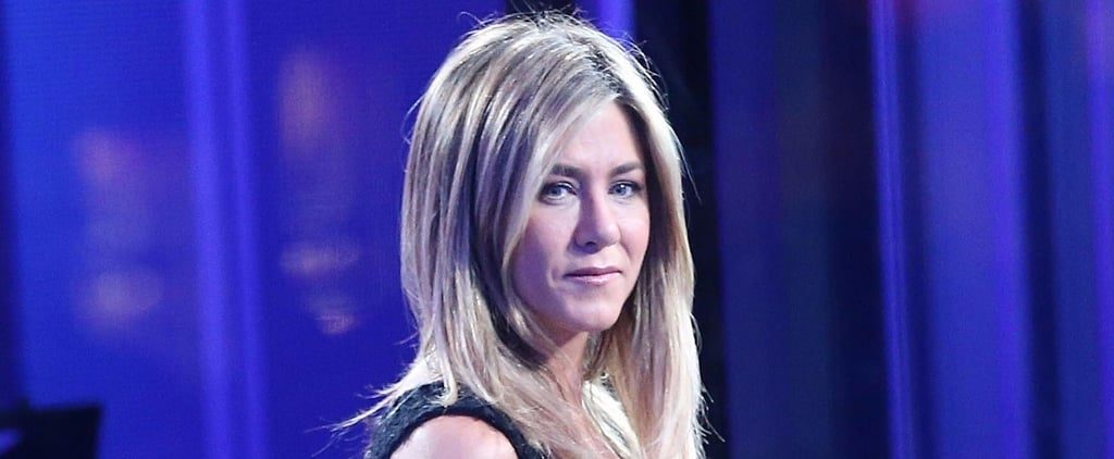 Jennifer Aniston Continues the Press Rounds For Office Christmas Party in London