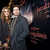 Nikki Reed and Jackson Rathbone at a Twilight concert at the Chicago House of Blues.