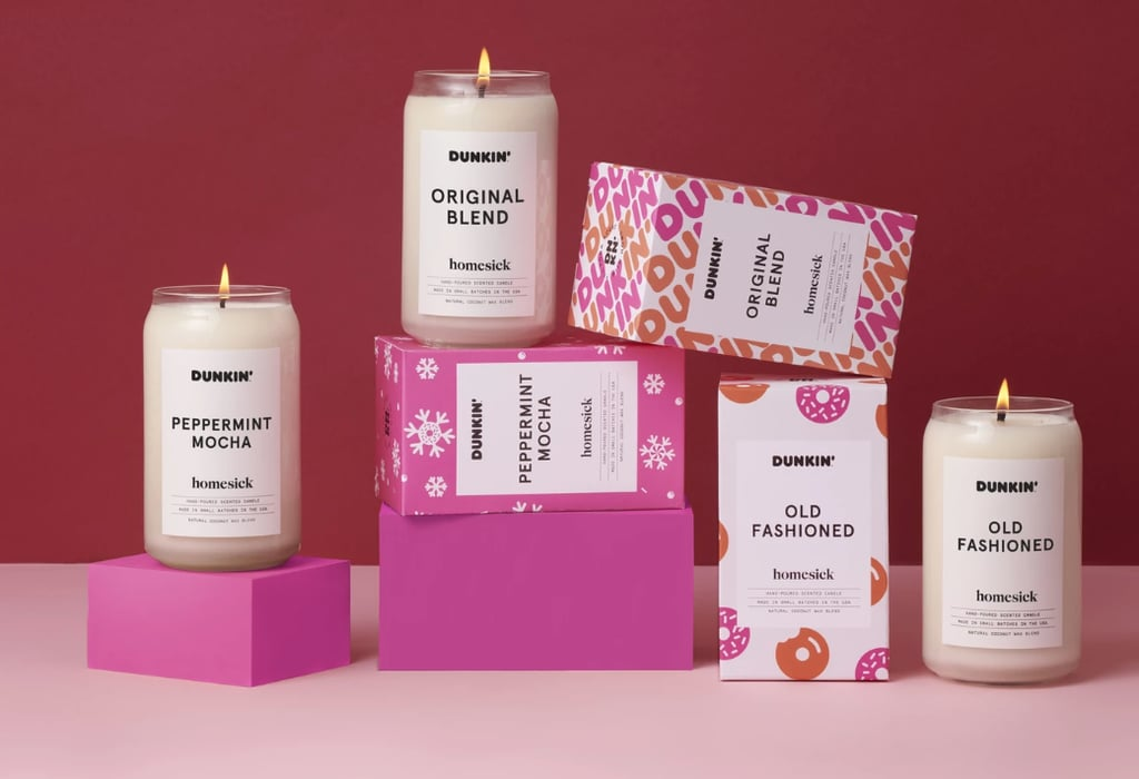 Dunkin' Donuts Coffee-and-Doughnut Candles