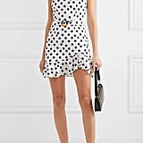 De La Vali Christabel Ruffled Polka-Dot Cotton Dress