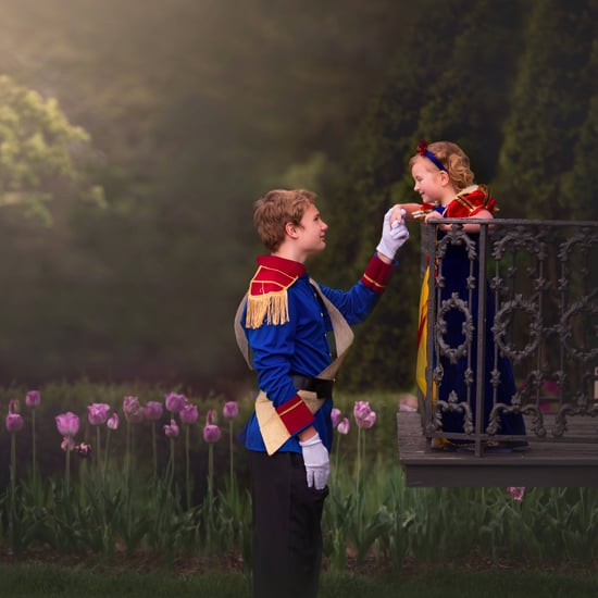 Brother Surprises Sister With Princess Photo Shoot