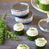 Tuna in Cucumber Cups