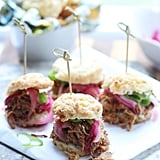 Slow-Cooker Pulled-Pork Jalapeño Cheddar Biscuit Sliders