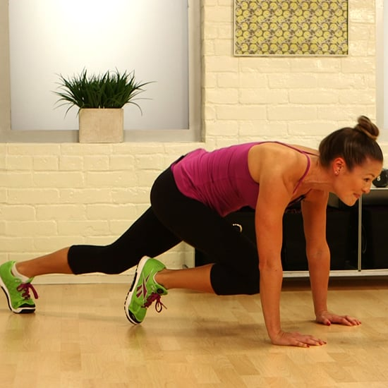 One-Minute Fitness Challenge: Mountain Climbers