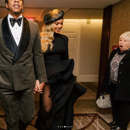 Beyonce and JAY-Z at Clive Davis Pre-Grammy Party 2018