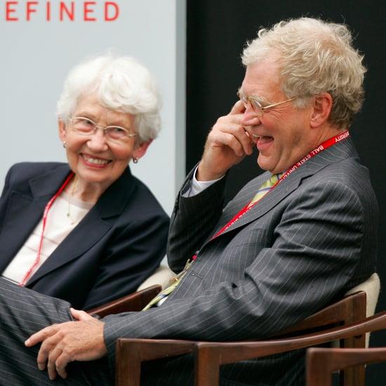 David Letterman's Mom Dies