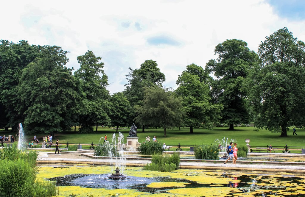 Escape the crowds by spending a relaxing afternoon in Hyde Park.