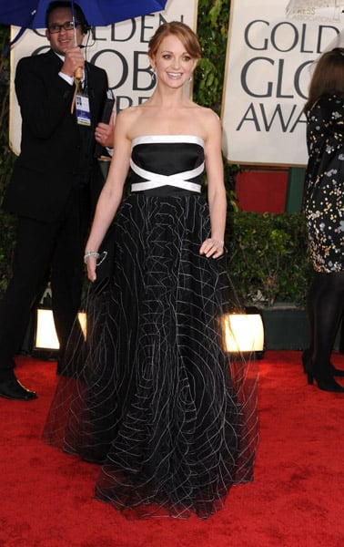 2010 Golden Globes Trend: Artsy Dresses